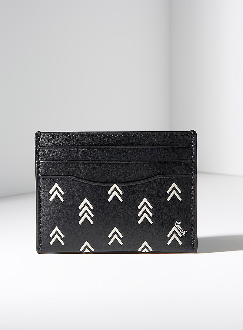 Le porte-cartes Line Arrow - Coach
