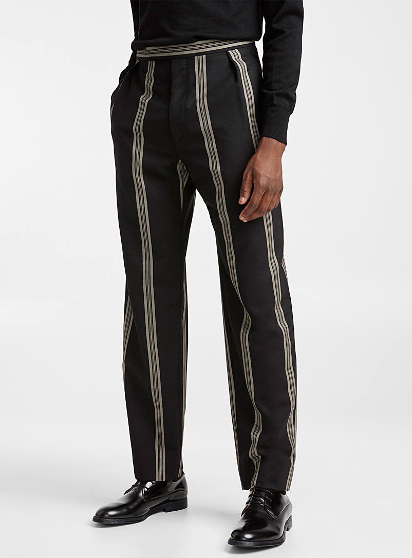 Stripe pant - Vivienne Westwood - Light Brown