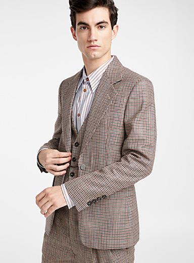 English Check jacket