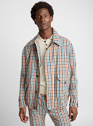 Savana checked overshirt