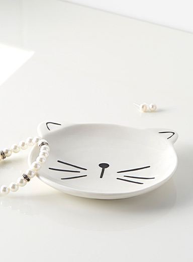 Cute kitten tray