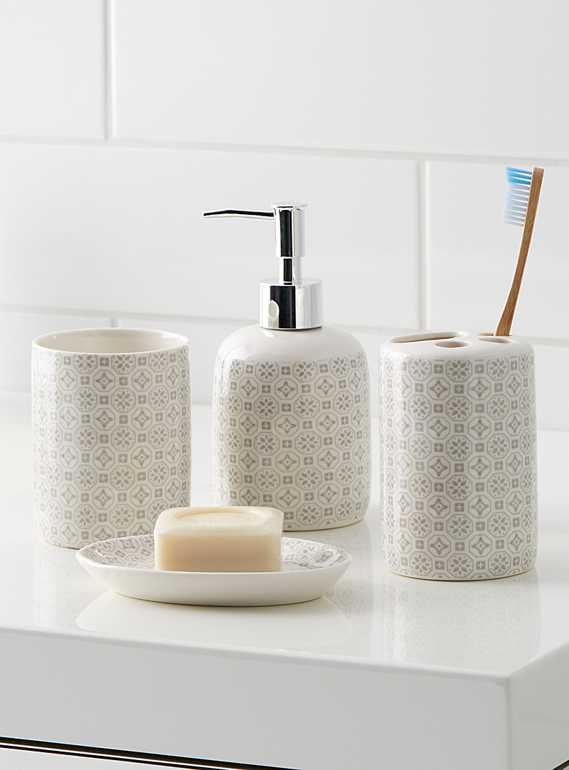 Mosaic accessories - Accessories & Wastebaskets - Patterned White