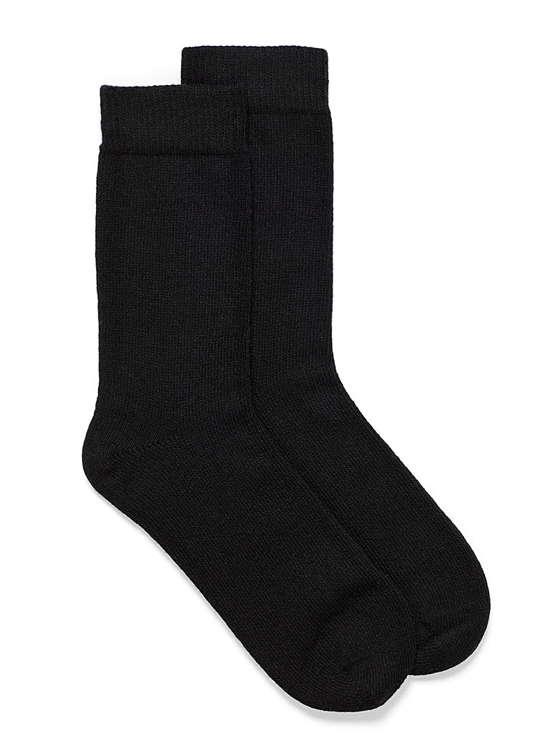 Essential knit wool socks