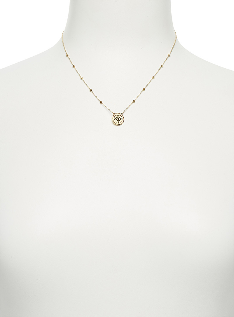 Eye pendant necklace - Necklaces - Assorted