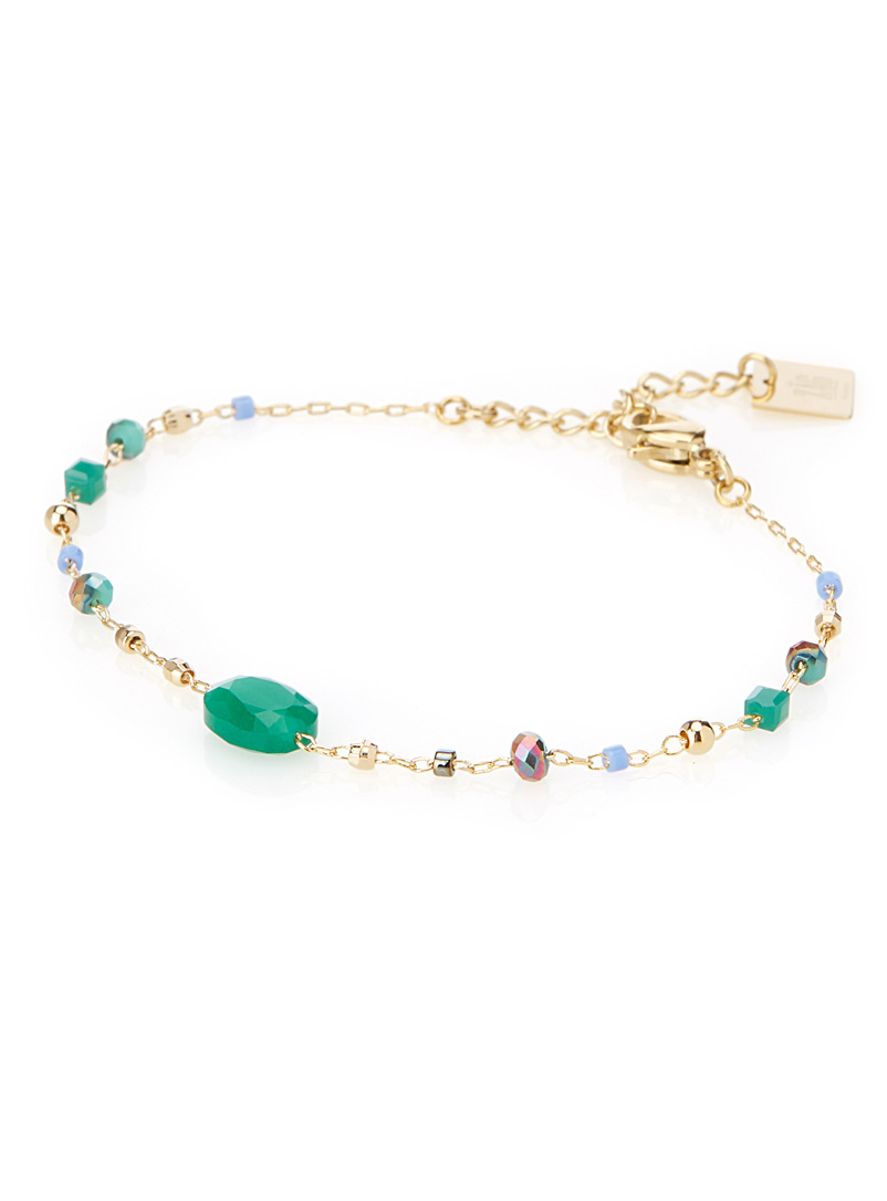 Multicoloured stone bracelet - Designer Jewellery - Assorted