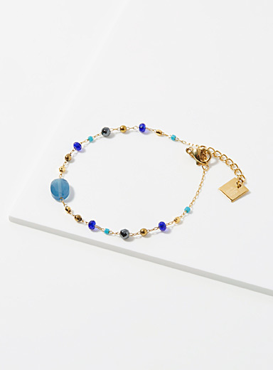 Zag Bijoux Assorted  Blue flame bracelet for women