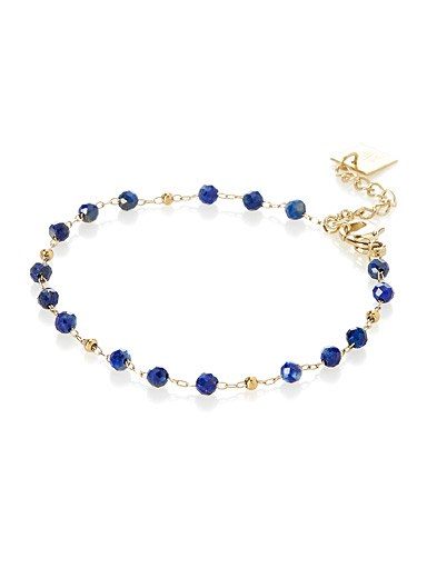 Blue beauty bracelet