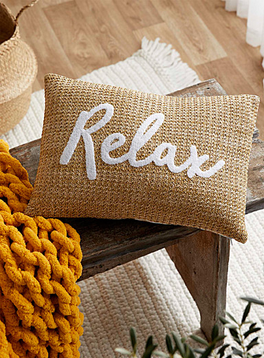 Relax patch cushion  30 x 50 cm