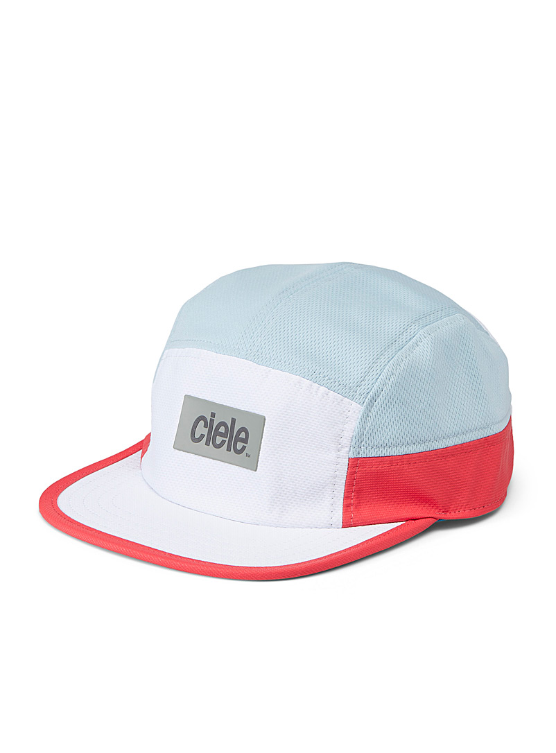 Ciele White GOCap colour block cap for women
