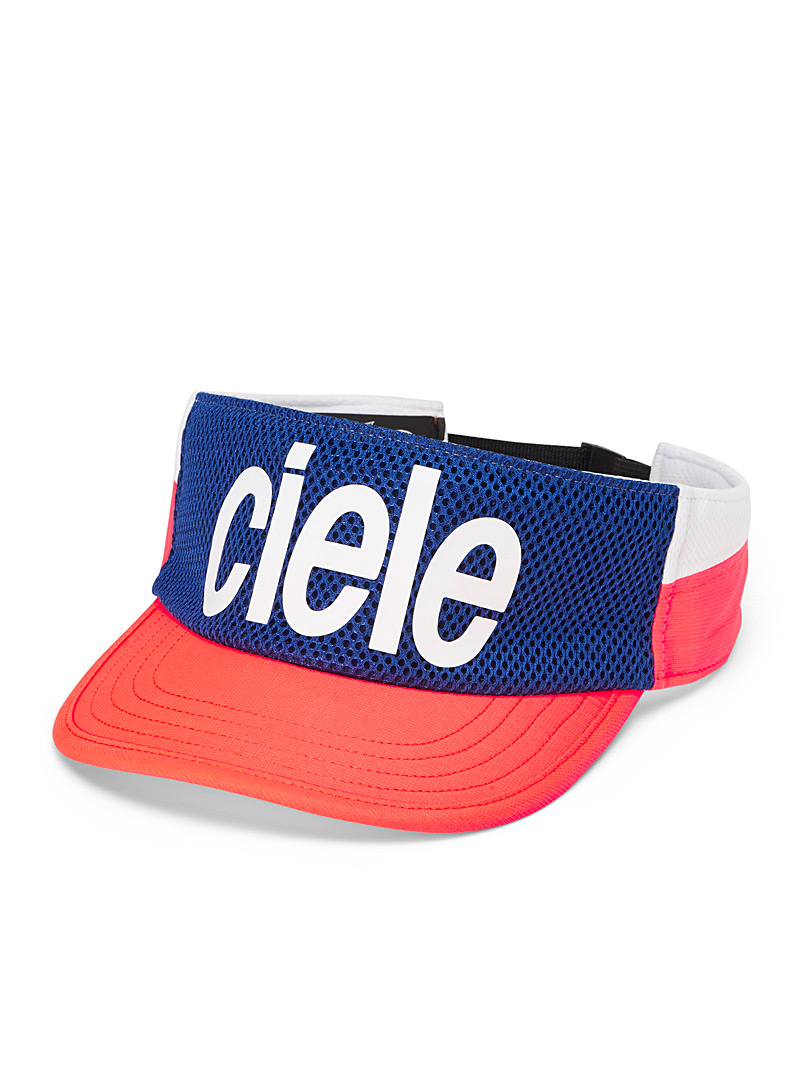 Ciele Coral Signature neon visor for women
