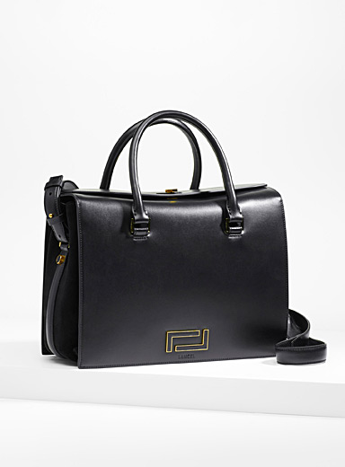 Pia smooth leather tote