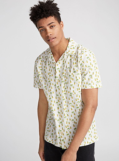 La camp shirt Spencer ananas