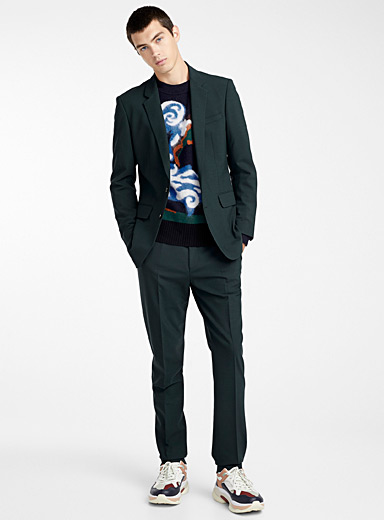 Slim fit formal jacket