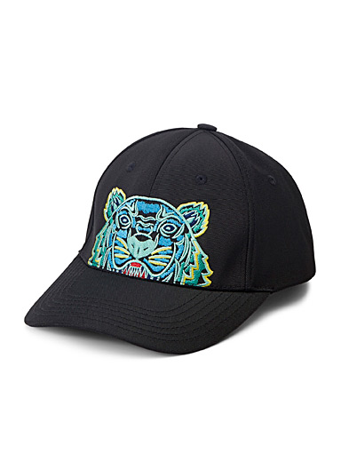 Canvas tiger cap