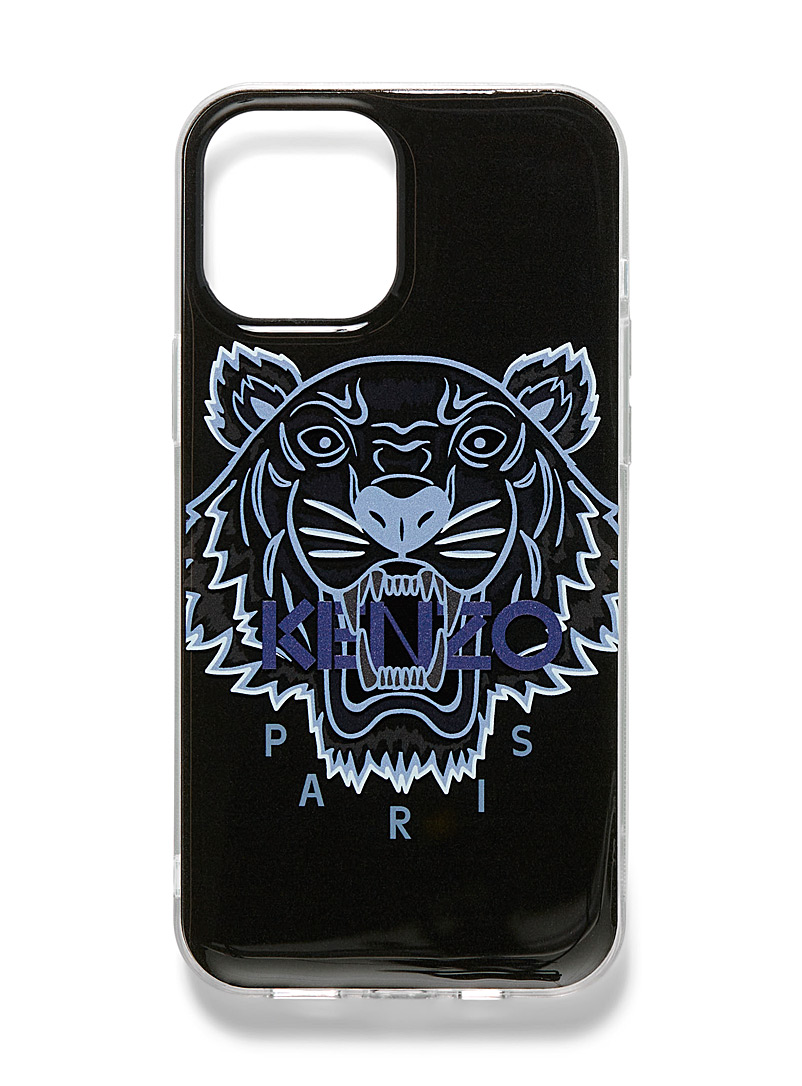 Kenzo Black Tiger case for iPhone 12 Pro Max for men