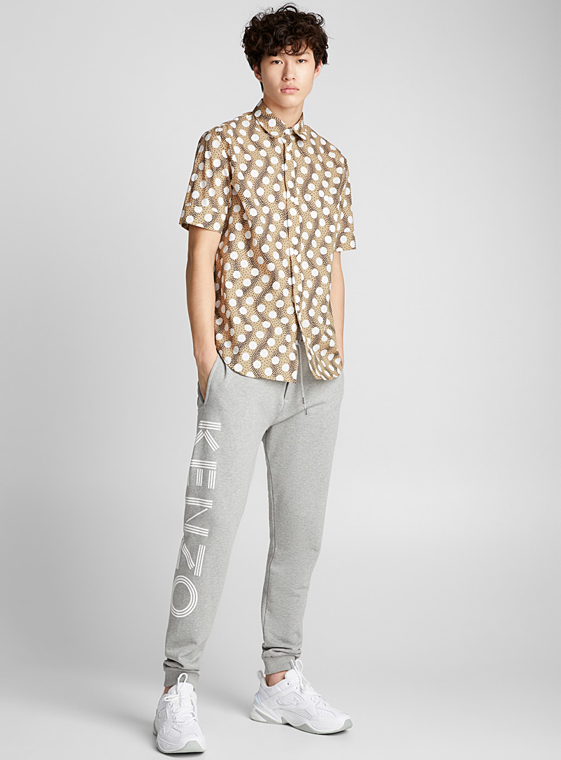 Wave Polka shirt - Kenzo - Honey