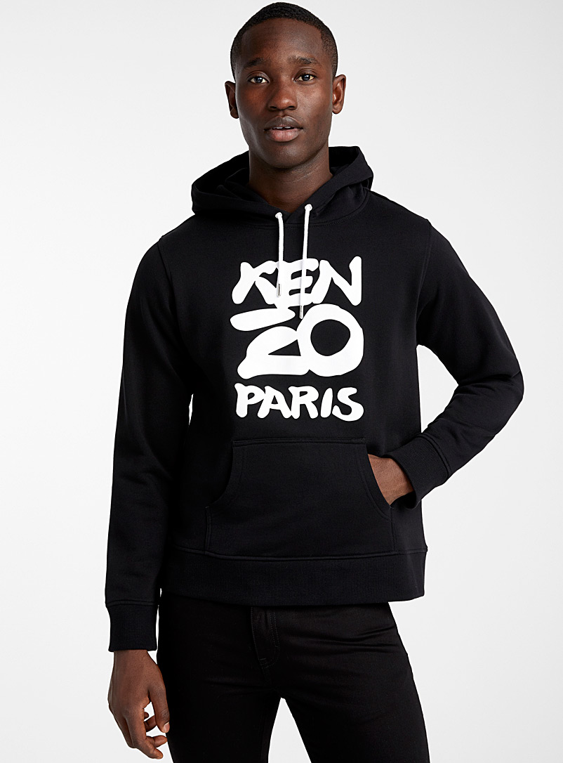 Kenzo Black Seasonal logo sweatshirt for men