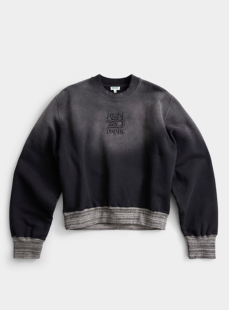 Kenzo Black Bubble sweatshirt for men