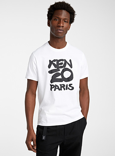 Kenzo White Kenzo Seasonal T-shirt for men