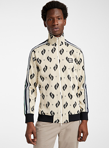 Kenzo Cream Beige Ikat track jacket for men