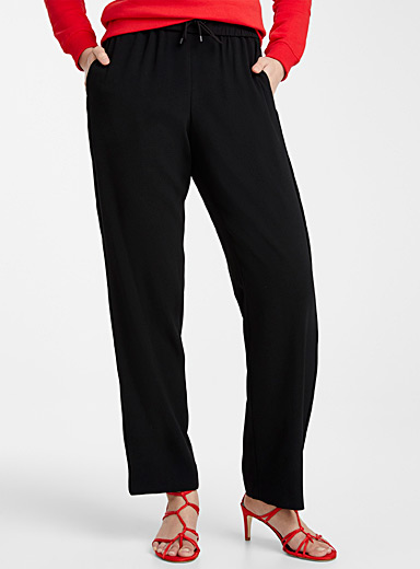 Kenzo Black Fluid joggers for women