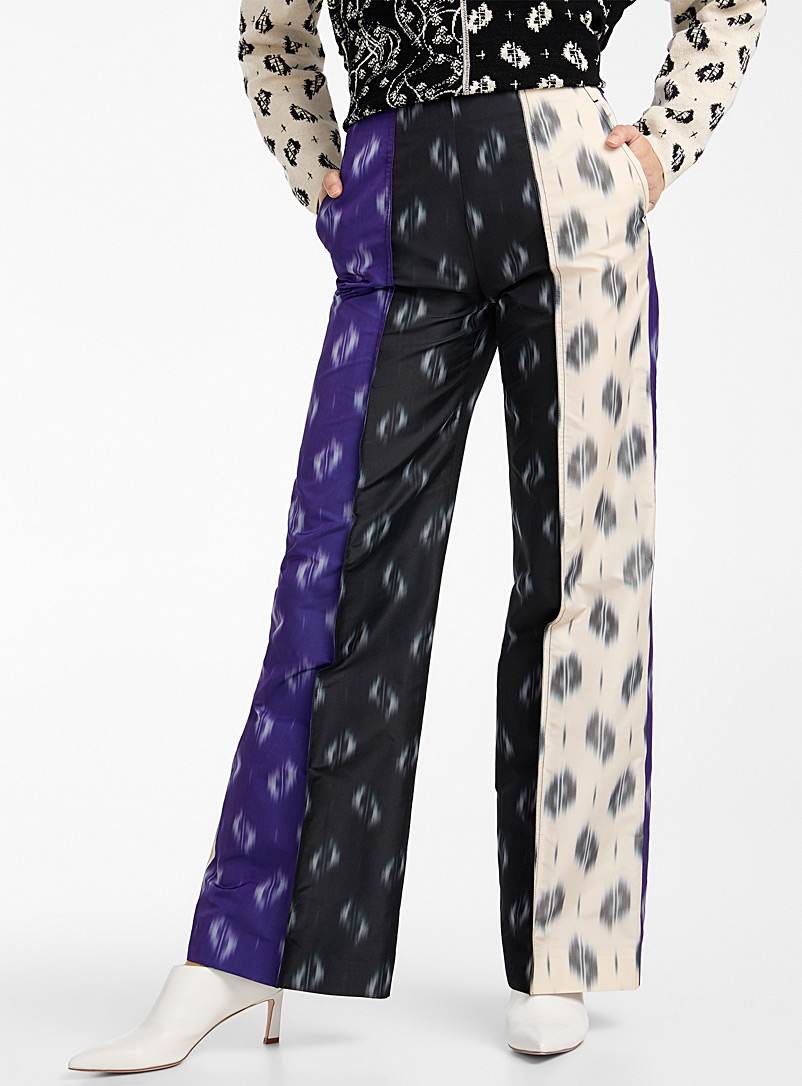 Kenzo Assorted Ikat cropped pant for women