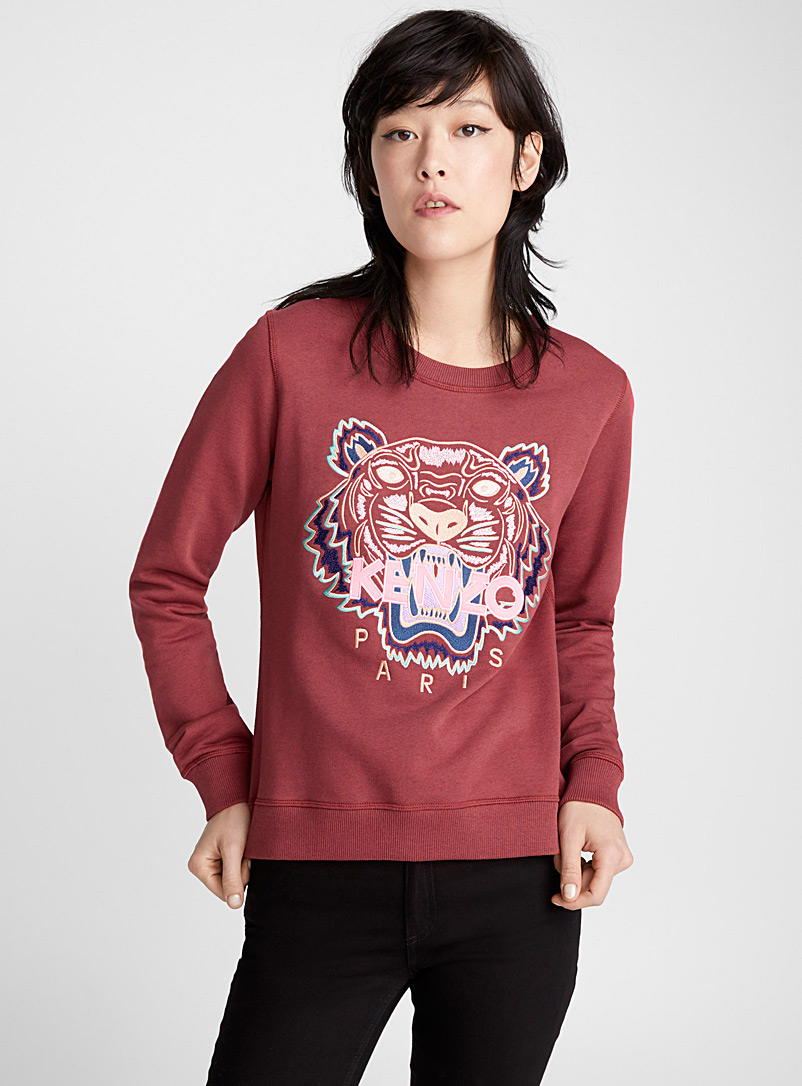 Classic Tiger sweatshirt - Kenzo - Ruby Red