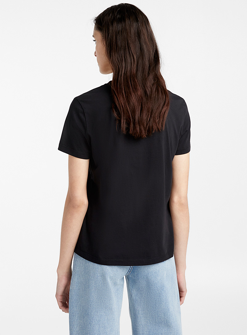 Kenzo Patterned Black Gradient tiger tee for women