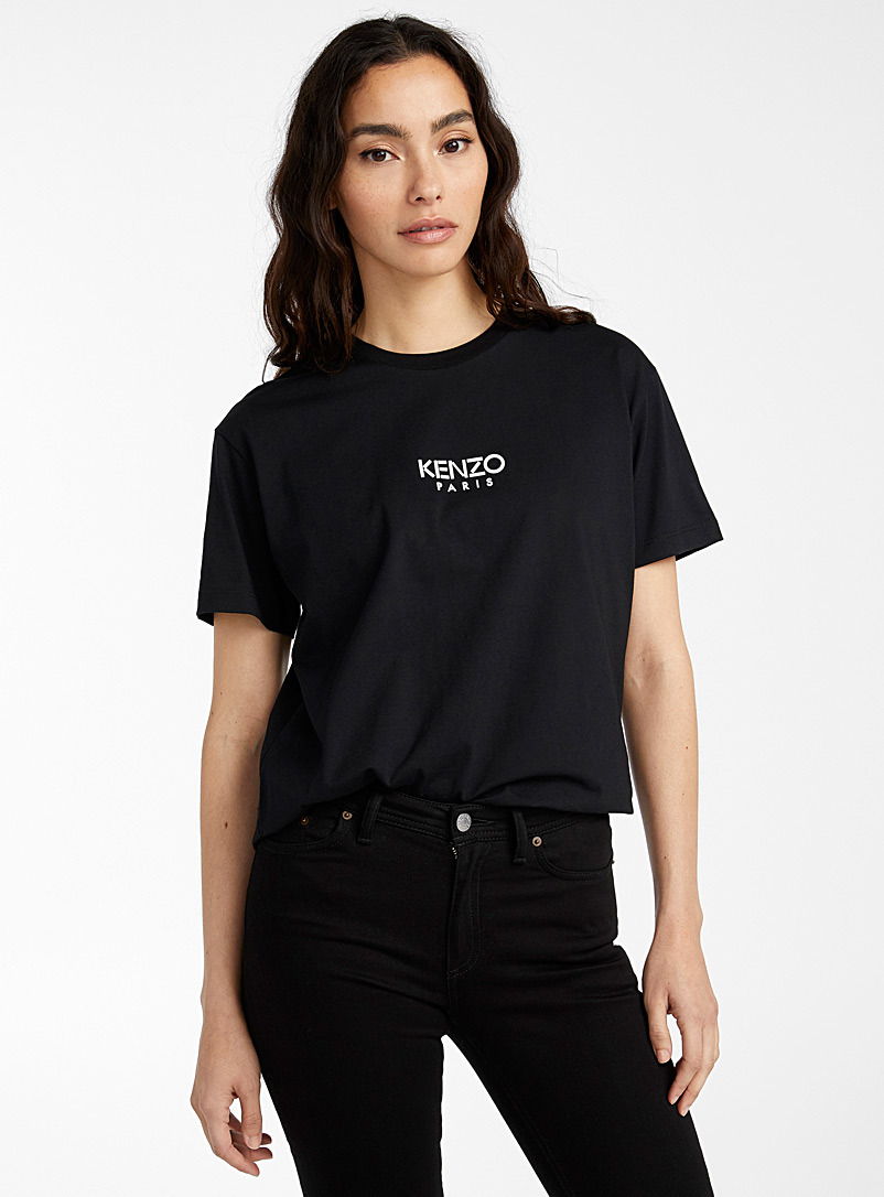 Kenzo Black Essential tee for women