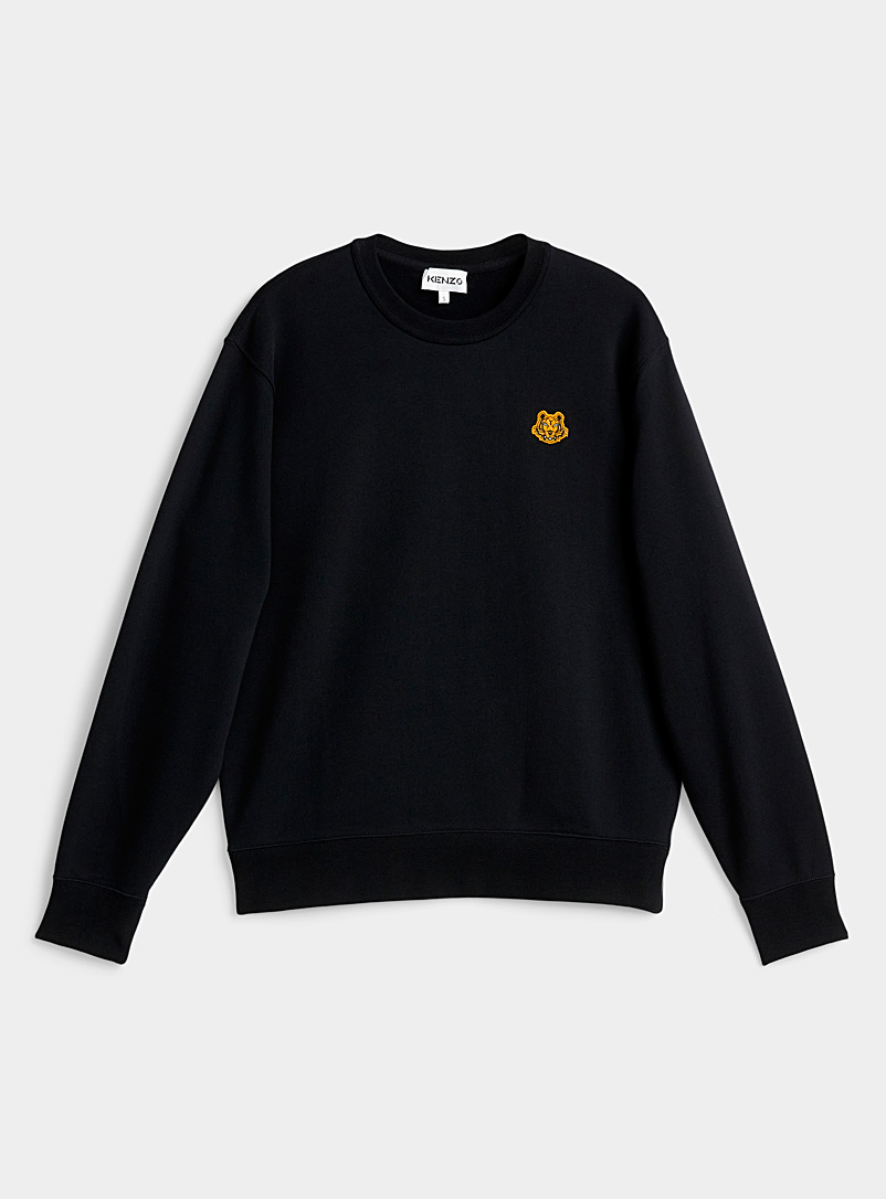 Kenzo Black Tiger emblem sweatshirt for women