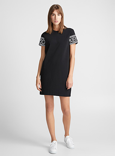 Kenzo logo T-shirt dress