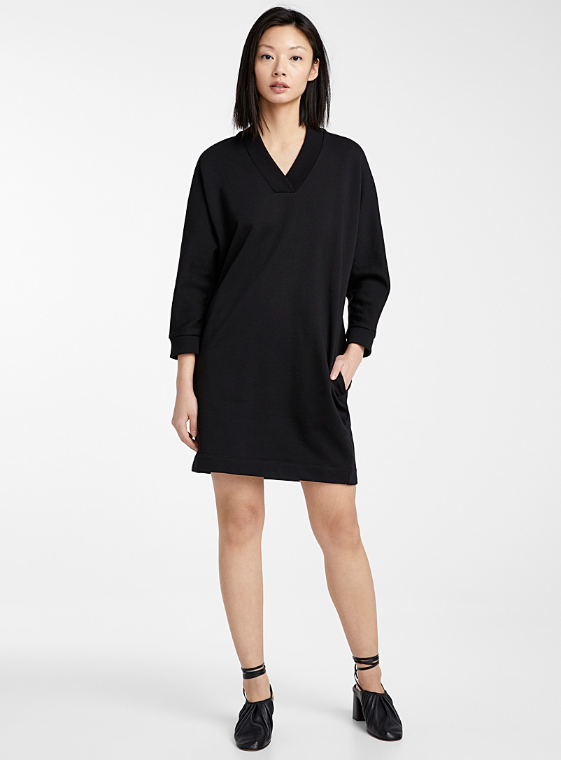 Kenzo Black Kenzo Sport Glitter dress for women