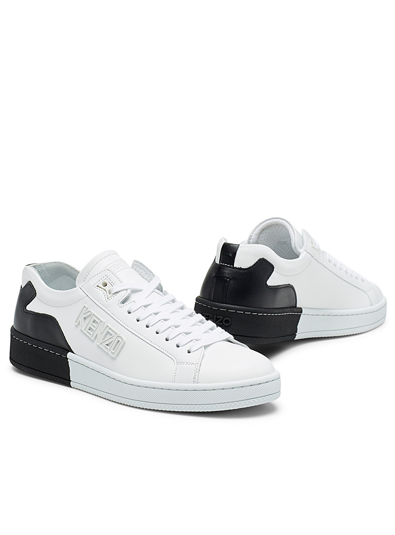 Two-toned Tennix sneakers - Kenzo - Black