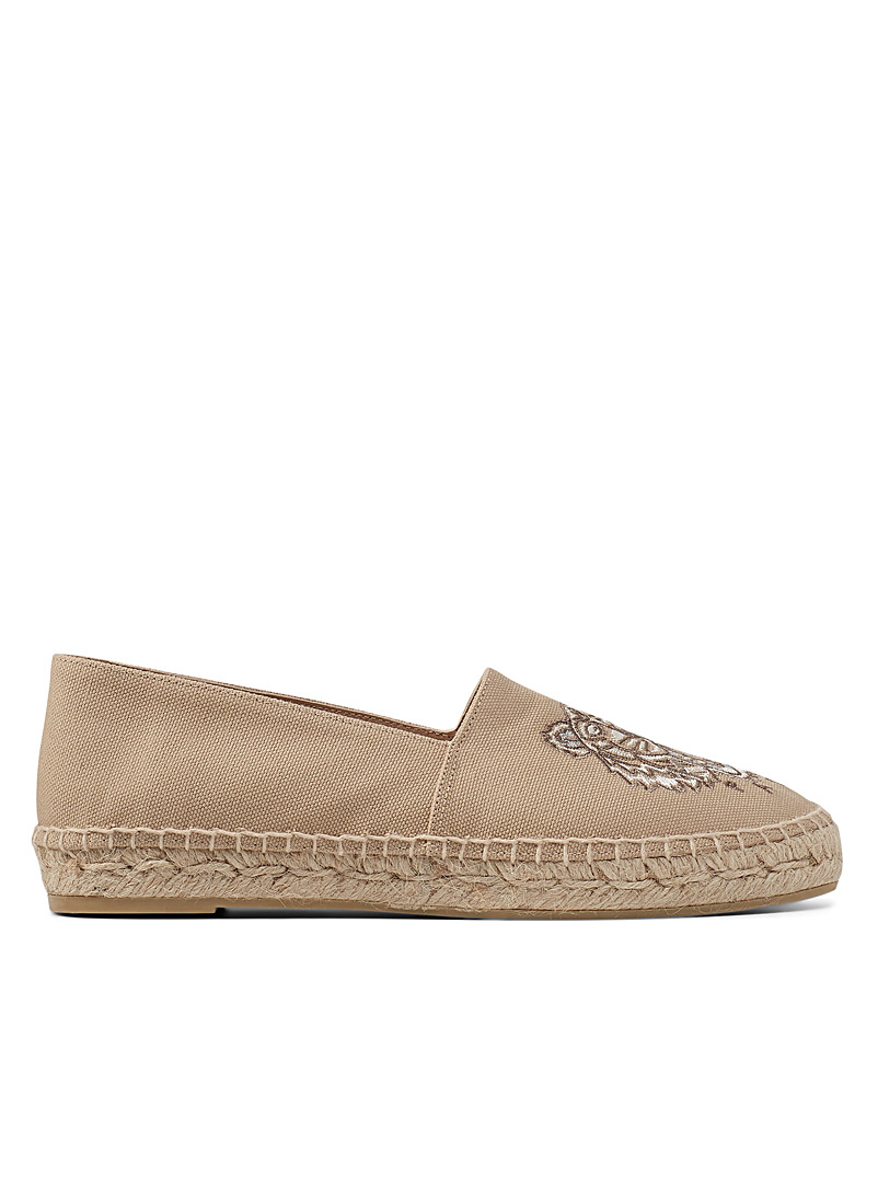Kenzo Sand Tiger canvas espadrilles for women