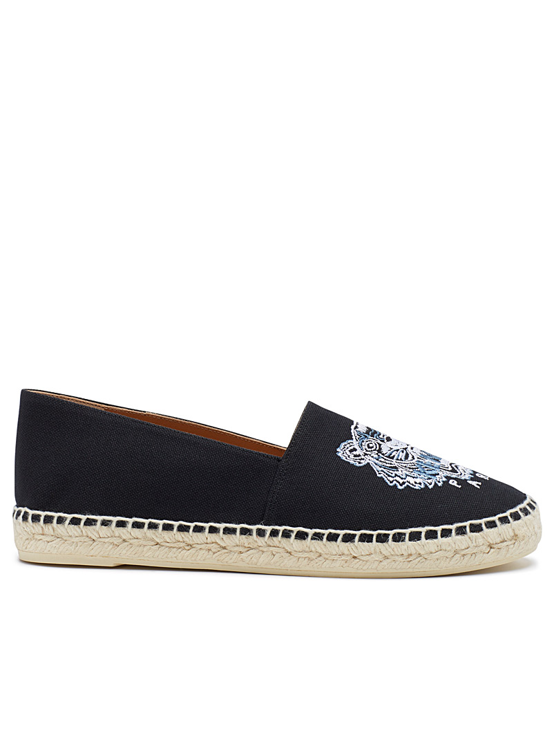 Kenzo Black Tiger classic espadrille for women