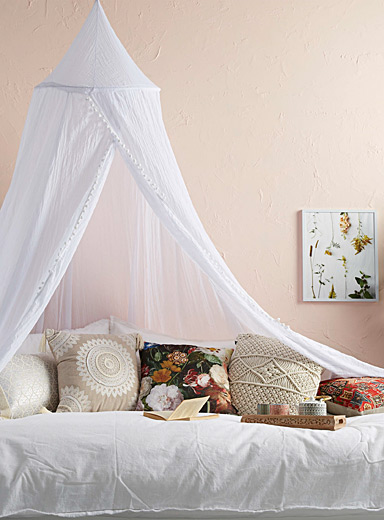 Sheer bed canopy | Simons Maison | Shop Kids Home Decor Accessories Online in Canada | Simons & Sheer bed canopy | Simons Maison | Shop Kids Home Decor ...