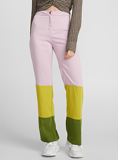 Popsicle high-rise pant