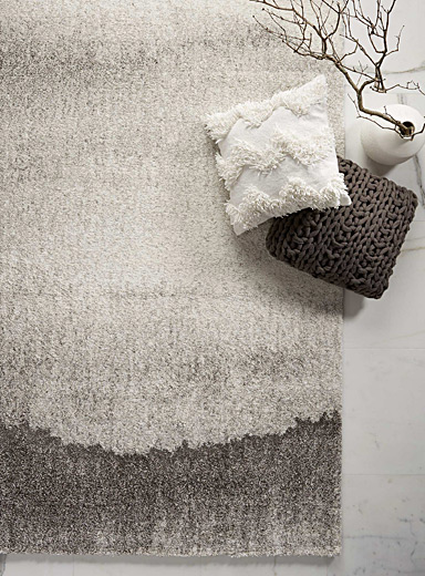 Le tapis grisaille