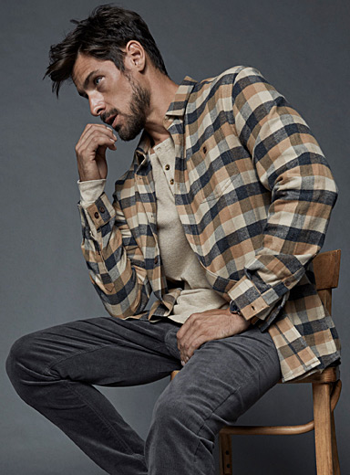 Flannel ranger shirt  Semi-tailored fit