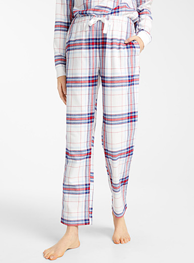Colourful tartan pant