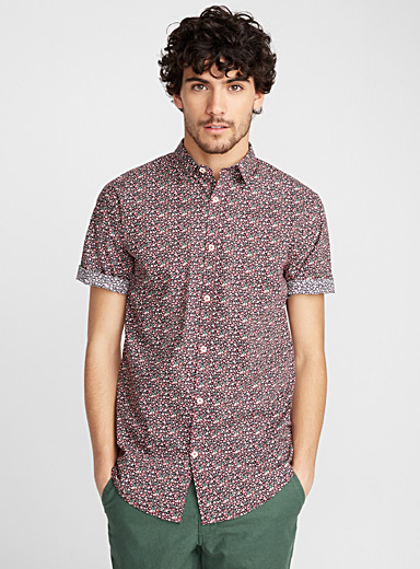 Summer flower shirt <br>Modern fit