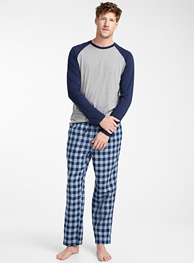 Buffalo check organic cotton pyjama set
