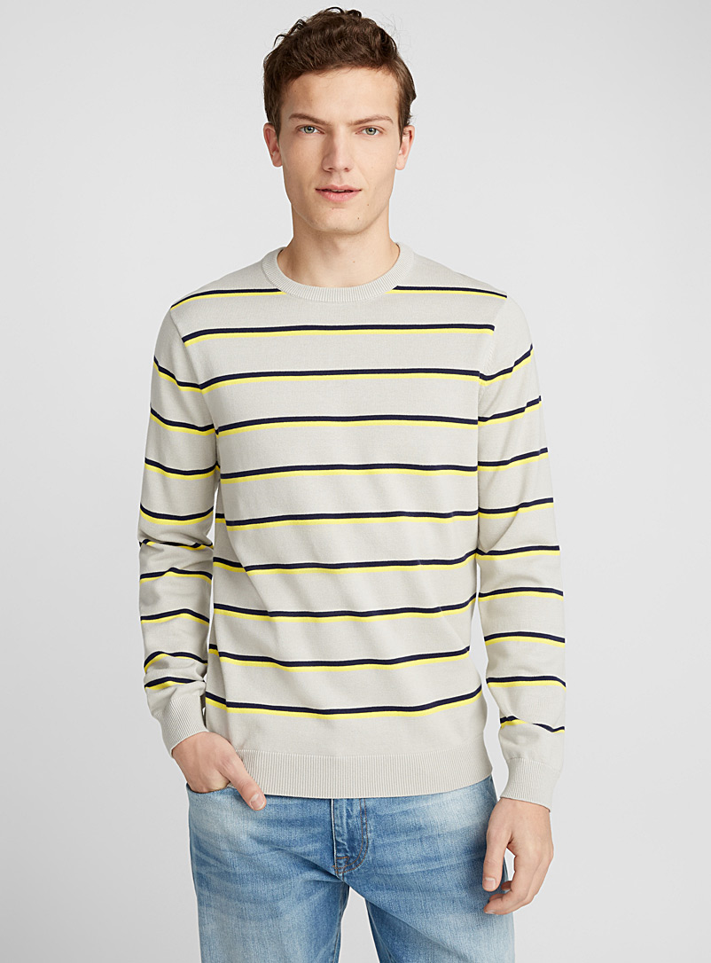 Le pull rayures vacances - Cols ronds