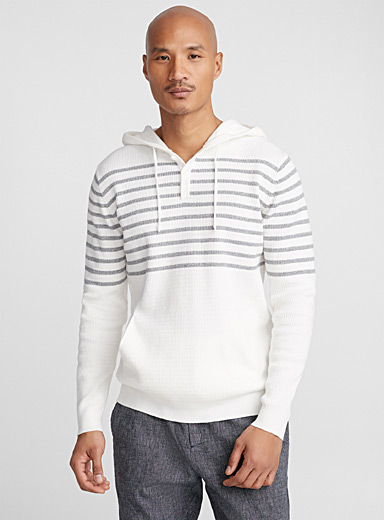 Regatta stripe hooded sweater