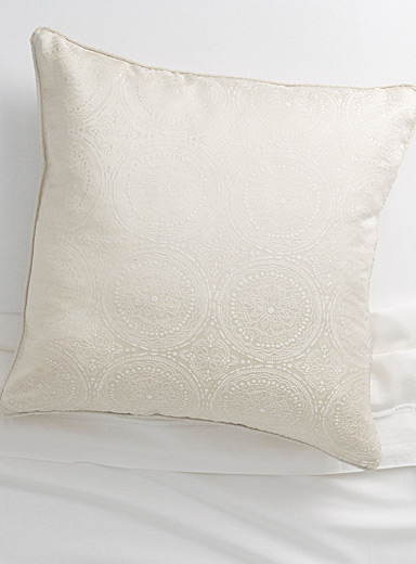 Tile jacquard Euro pillow sham