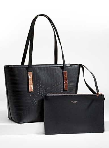 Jaada tote and clutch
