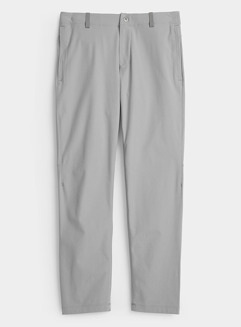 Reigning Champ Light Grey Coach technical pant  Straight, slim fit for men