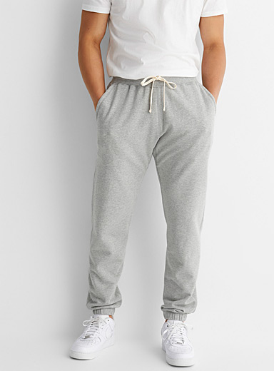 Terry-lined sweatpant
