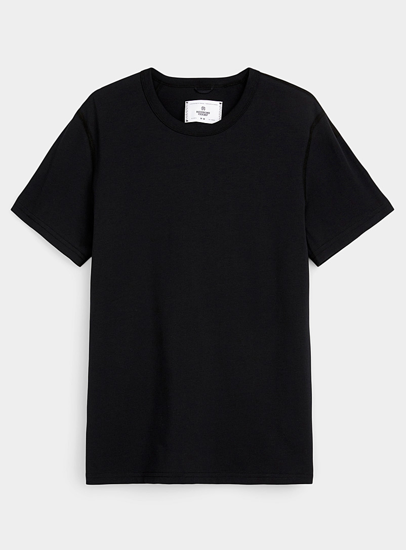 Reigning Champ Black Technical jersey crew-neck T-shirt for error