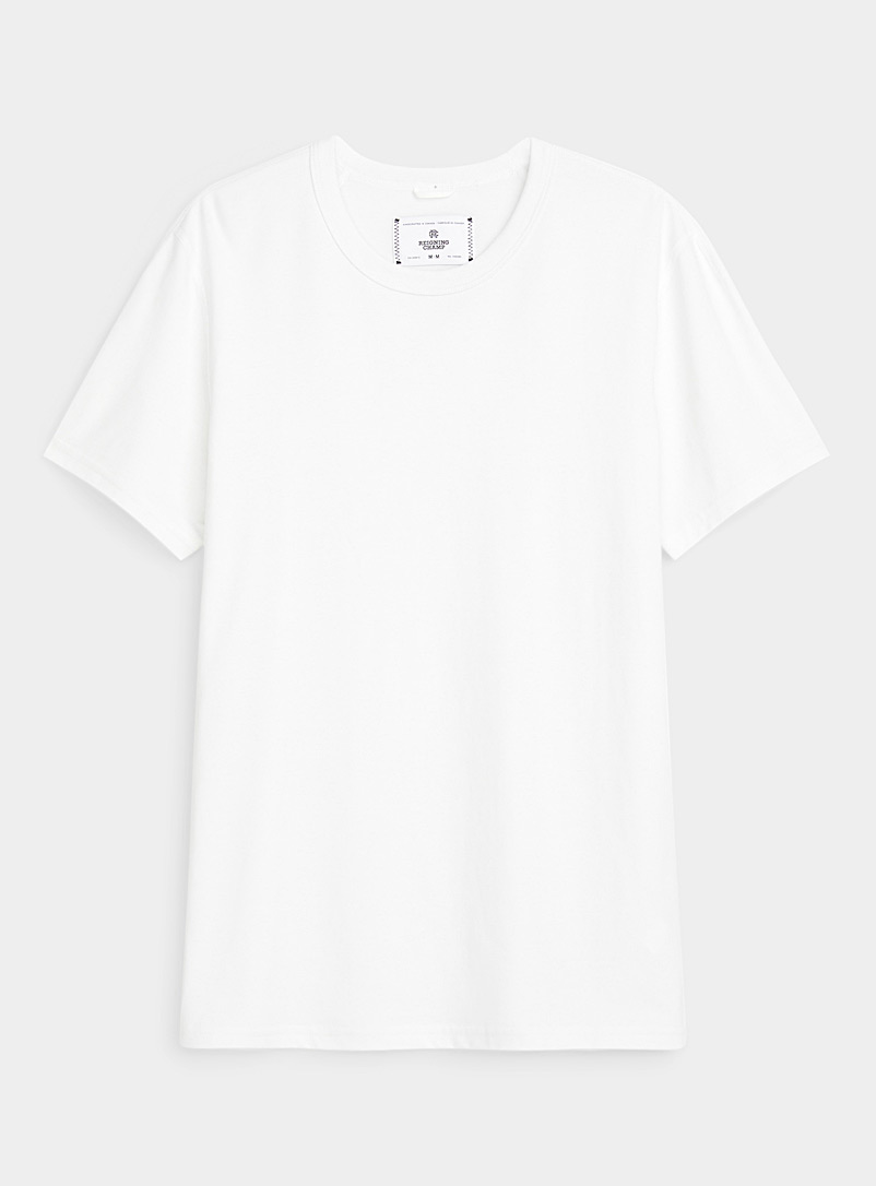 Reigning Champ White Technical jersey crew-neck T-shirt for error